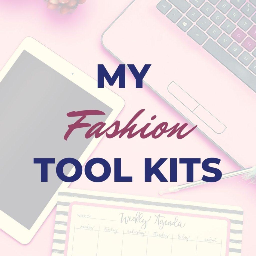 Sandy Chan's fashion templates and tool kits