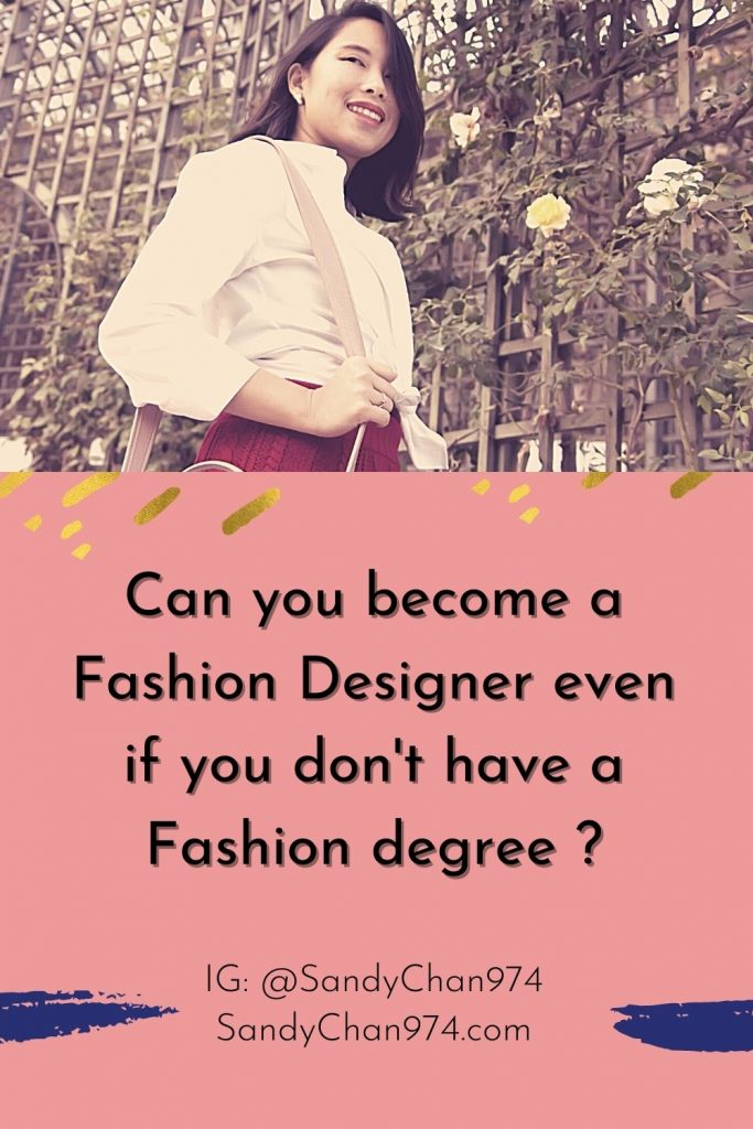 Can I become a fashion stylist without a fashion degree?