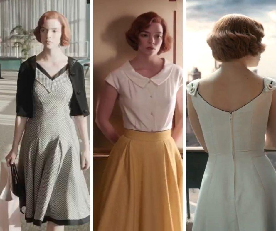 Wonderful dresses - The Queen's gambit