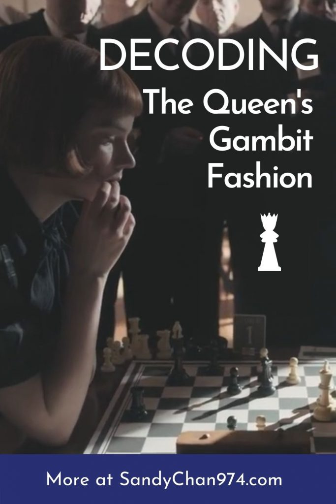 Analyzing The costumes and outfits from the TV Show The Queen's Gambit - Sandy Chan