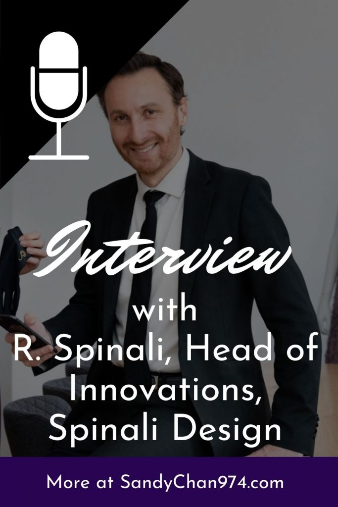 Interview with Romain Spinali, head of innovations at Spinali Design